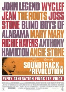 Poster for the documentary &quot;Soundtrack for a Revolution&quot;