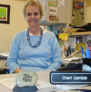 'You Rock' recipient Cheri Gamble.