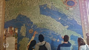 Vatican Hall of Maps Students 1480