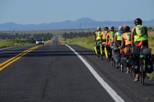 Biking across Arizona
