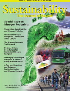 Sustainability: The Journal of Record