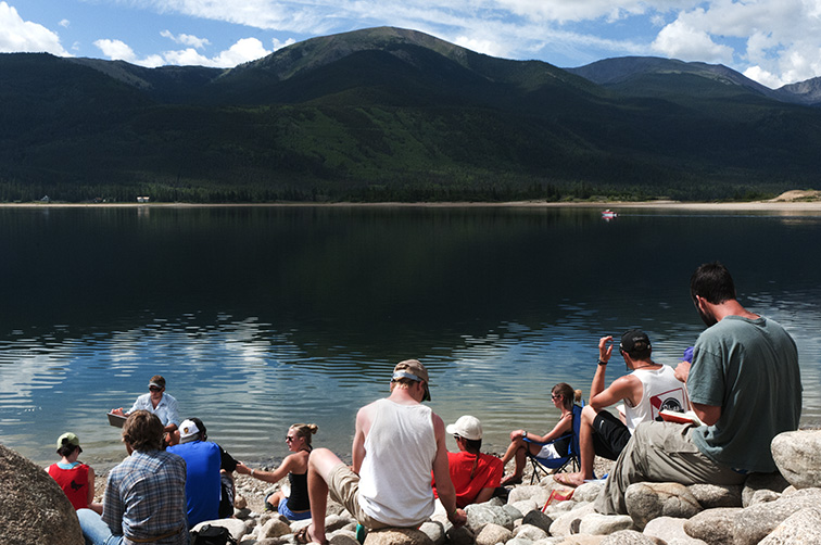 Class on The Reservoir on Colorado Hydrology