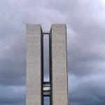 National Congress Building, designed by Oscar Niemeyer