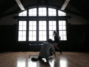 jensen dancing window