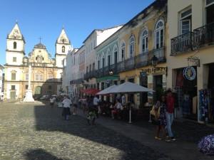 Pelourinho before São João