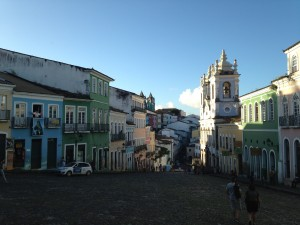 Pelourinho before Sao Joao