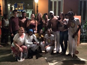 University of Hawaii Students with Caporistas