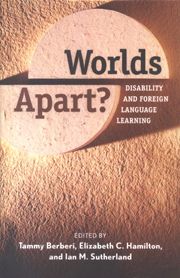 Worlds Apart?: Disability and  Foreign Language Learning cover