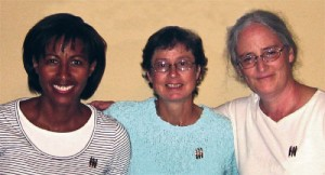 Gail Tate, Mary Safford Mourar, and Gretchen Lockwood