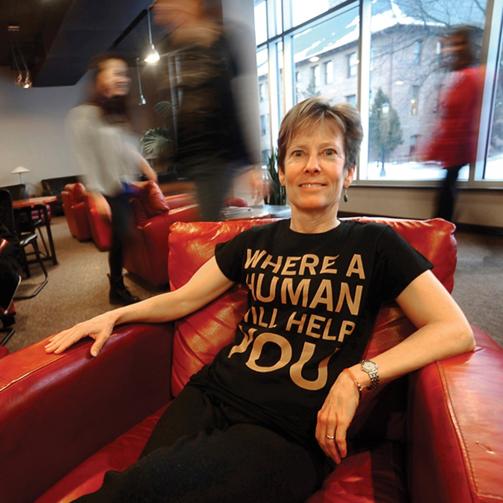 """""""The center will be a place where problems are solved; where, if you come asking questions, a human will help you find answers."""" – Anne Hyde, CC professor of history and director of the Crown Center for Faculty Development"""