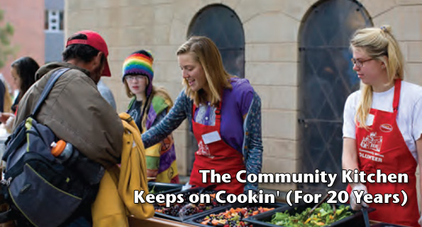 The Community Kitchen Keeps on Cookin' (For 20 Years)