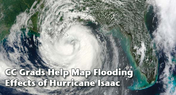 CC Grads Help Map Flooding Effects of Hurricane Isaac