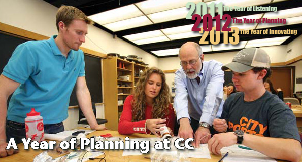 A Year of Planning at CC