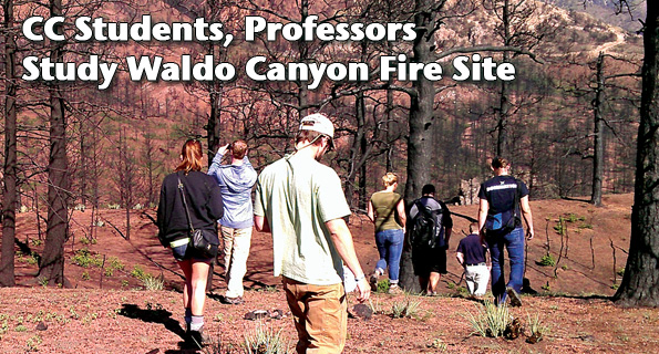 CC Students, Professors Study Waldo Canyon Fire Site