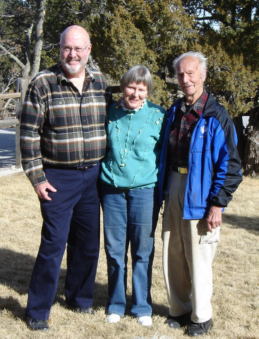 "The ""Occasional Quasi Mini-Reunion"" took place on the day before Thanksgiving 2008 at Avery McCarthy's daughter's ranch near Colorado City, Colo.  Attending were Avery '57, Valerie Johnson Southers '56, and Pax Child '55."