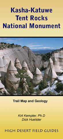 Valles Caldera: Map and Geologic  History and Kasha-Katuwe Tent Rocks National  Monument: Trail Map and Geology cover