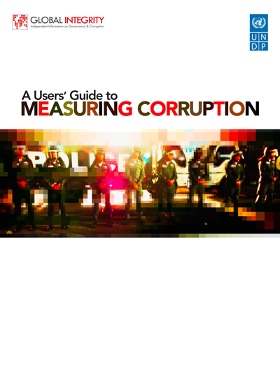 User's Guide to Measuring Corruption cover
