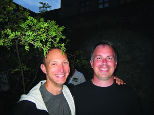 Rob Adkisson '92 and Brian Ormiston '93 attended the Outgames in Copenhagen, Denmark. The games, a festival of sport and culture, took place July 25–Aug. 2, 2009.