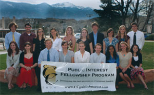 The 2009 Public Interest Fellowship Program fellows.