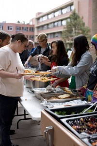Community Kitchen serving