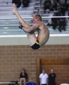 2012-13 NCAA 1M Diving Howlett
