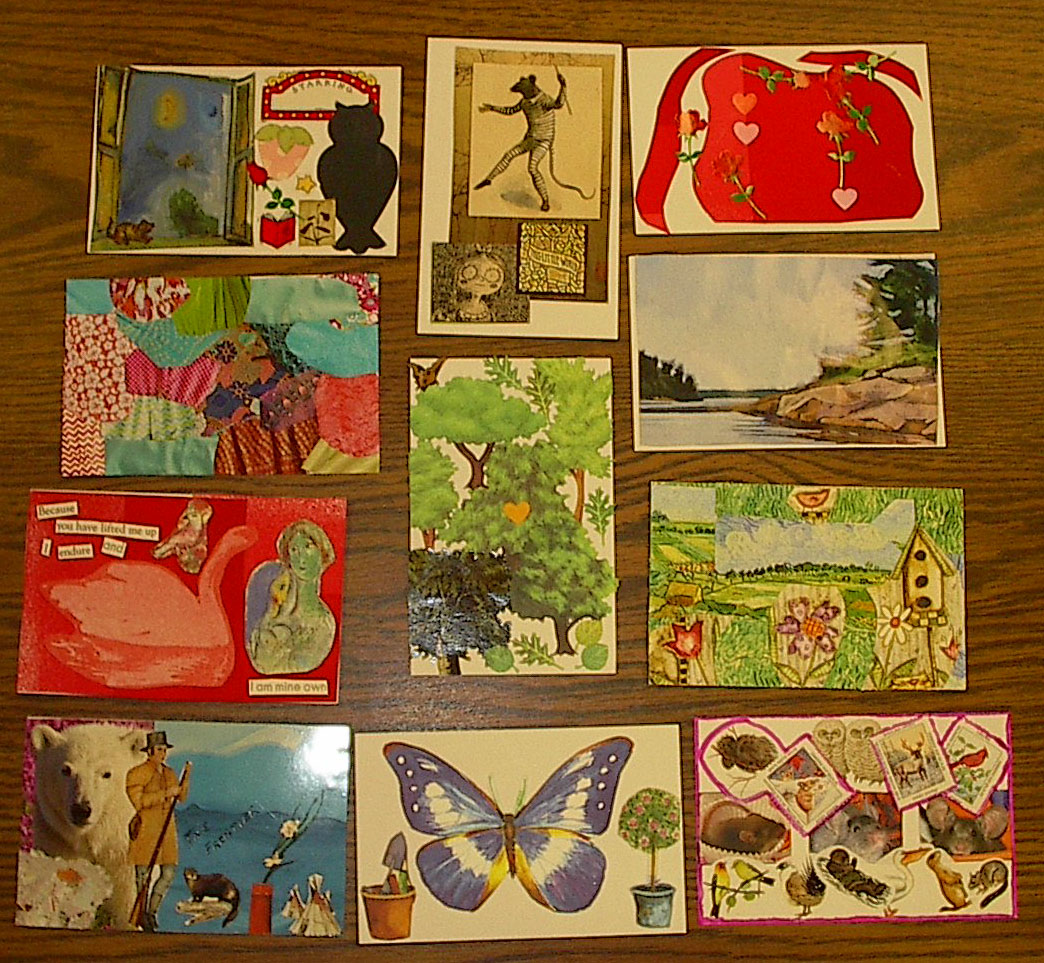 Pen Women postcards
