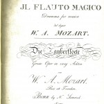 Mozart title page
