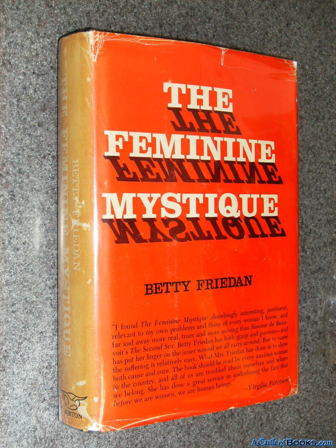 the role of women in 1960s us in betty friedans the problem that has no name A leading figure in the women's movement in the united states called the problem that has no name, and got passionate the 1960s among women was the.