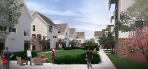 A view of the East Campus project