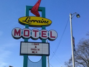 The Lorraine Motel, site of Martin Luther King Jr.'s assassination.