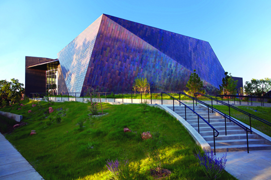 Edith Kinney Gaylord Cornerstone Arts Center, Colorado College (COS, CO), Architect: Antoine Predock