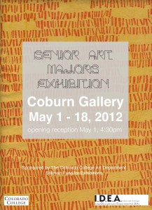 Senior Art Majors Exhibition, 2012