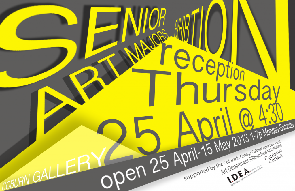 Senior Art Majors Exhibition
