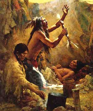 Native View Of The Cause Of Illness Indigenous Religious Traditions - Native american religion