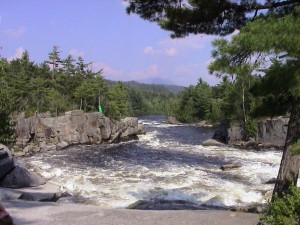 West Branch of the Penobscot, Maine.