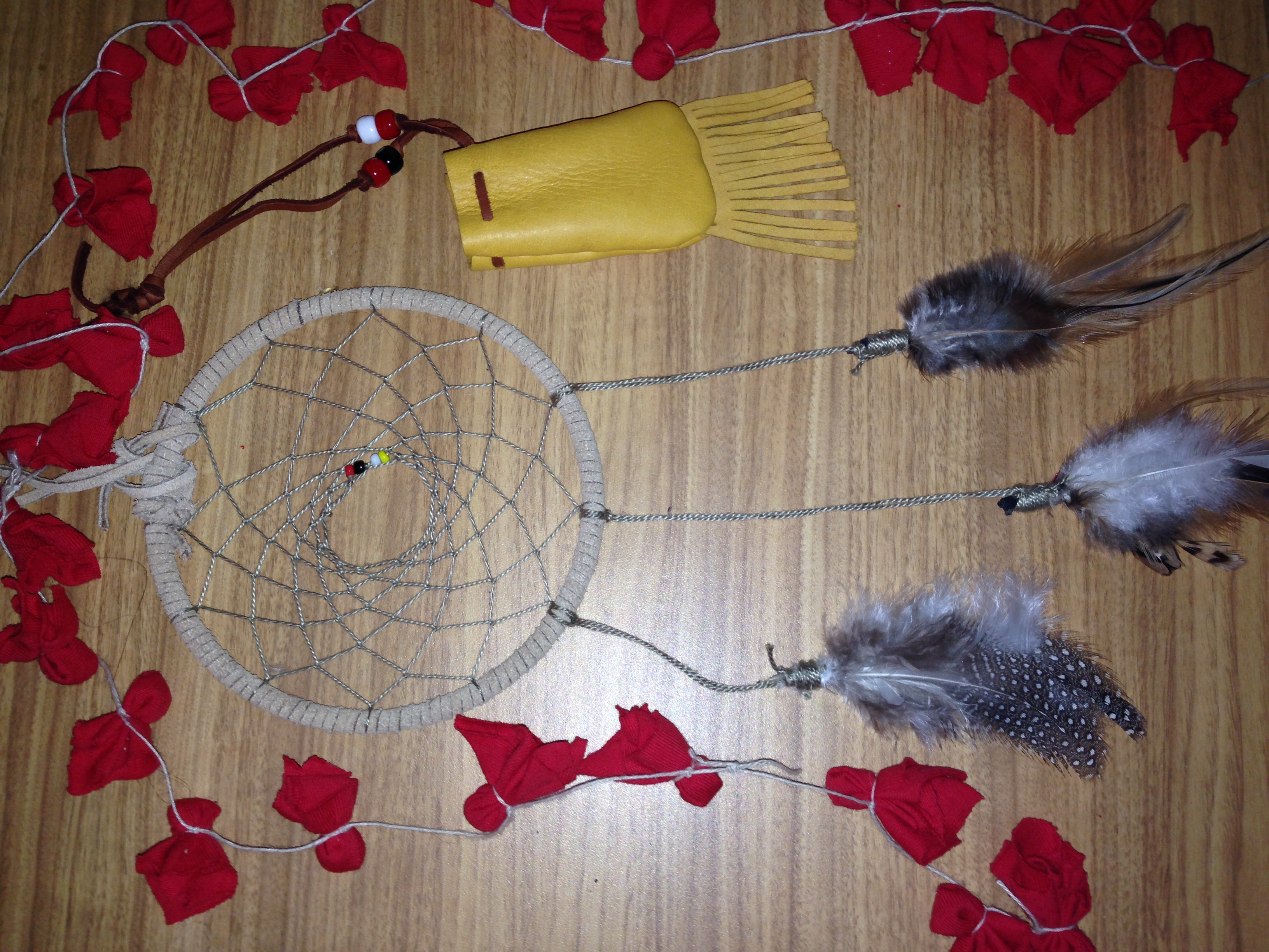 Sioux Indian Dream Catchers Lakota Crafts Significance of Dream Catchers and Prayer Ties 23