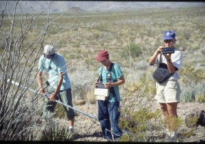Big Bend Geophysics Students