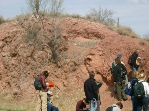 Loveland core of anticline