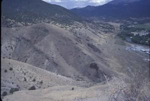 Salida volcanics Arkansas River rift