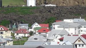 Volcanoes Iceland Heimaey 1973 flow