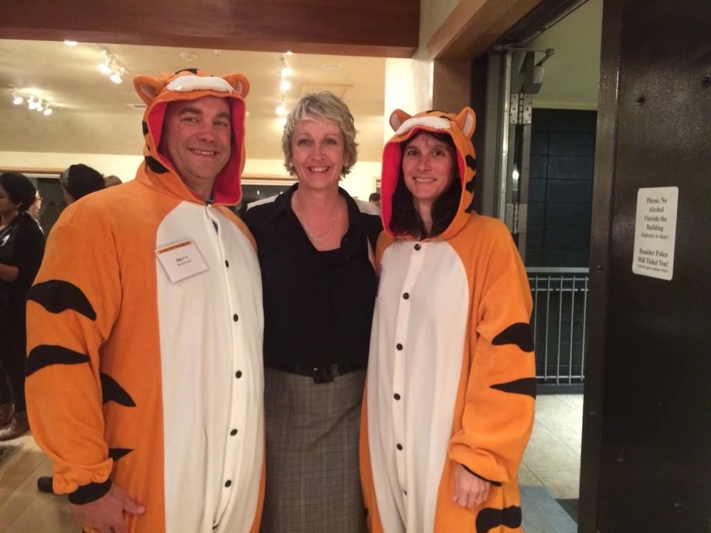 Tiger parents Laura and Jim Kornish P'17