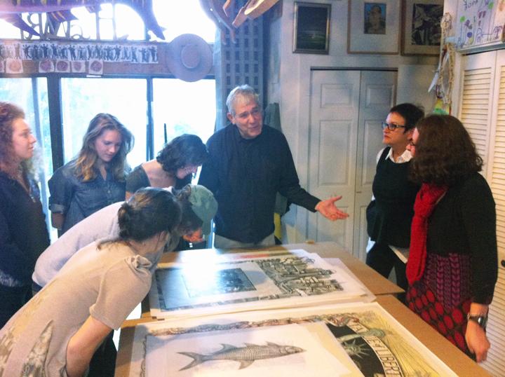 Visit to James Grashow's studio.