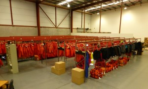 The CDC hosts a warehouse of parkas, fleece coats & pants, mittens, hats, goggles, boots, and pretty much everything else needed to keep you cozy while in the field – except for good ol' long undies. Anyone headed to McMurdo Station is allowed up to 85 pounds of luggage, including all the issued ECW.