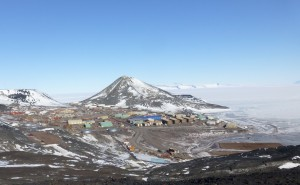 McMurdo, from Hut Point  Trail.