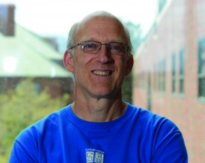 Biology Professor Jim Ebersole mentored both Enquist and Sides.