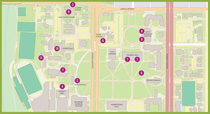 Creating a Sense of Place: The Gardens of Colorado College | Bulletin