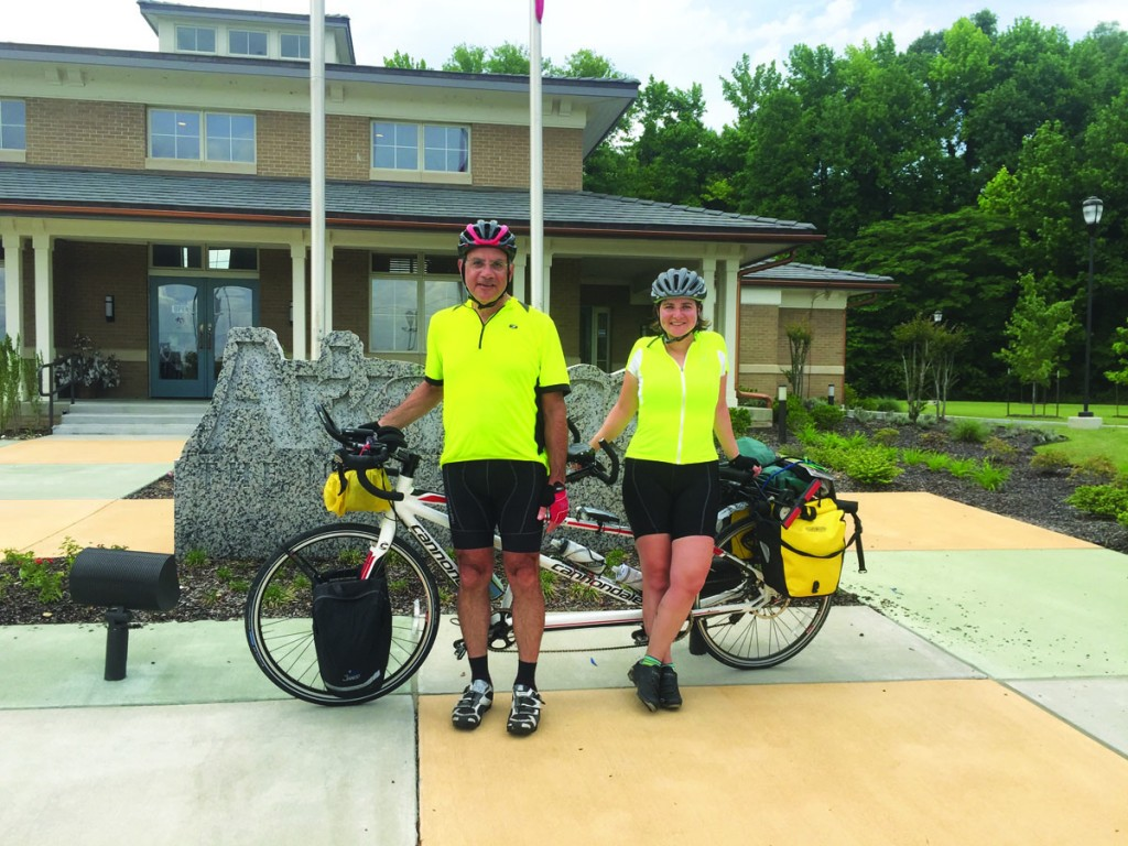 Jessica Gingold completed a 1,350-mile tandem bicycle ride in May with her father, a civil-rights attorney, from Cincinnati to New Orleans by way of Ferguson, Missouri. The ride, Pedaling Justice, raised nearly $30,000 for two criminal justice reform organizations: Ohio Justice & Policy Center and the Children's Law Center. Jessica, who has a master's in education from Harvard University, is in her third year of law school at the University of Michigan, where she has focused on education and juvenile justice advocacy