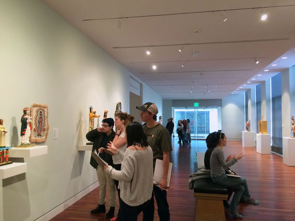 Art colorado springs - As Part Of A Unit On Cultural Identities Students Analyze Historic Devotional Artworks In The