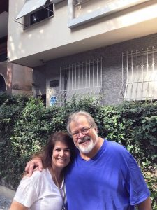Celia Pereira da Silva '88 and Peter Blasenheim