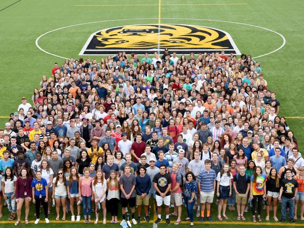 Class of 2020 at the start of the 2016 school year.